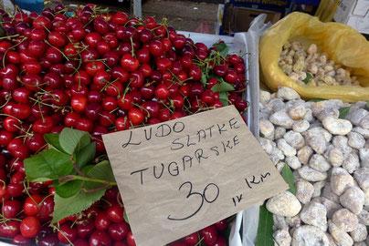 Split mark market Kroatien