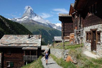 Wandern beim Matterhorn Zermatt Reiseblog