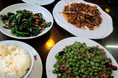 restaurant tipp nahe lama tempel