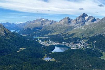 St. Moritz Wanderungen Oberengadin