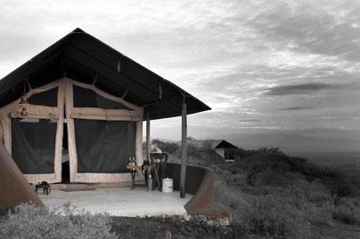 Luxus Safari camp Kilimanjaro Shumata Tansania, Reiseblog Edeltrips