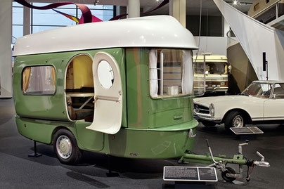 COOL CAMPING. Das Erwin-Hymer-Museum in Bad Waldsee