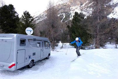 Wintersport & Camping, Engadin St. Moritz, Reiseblog Edeltrips