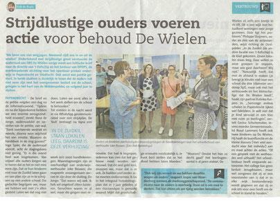 Artikel verschenen in het Papendrechts Nieuwsblad d.d. woensdag 31 mei 2017
