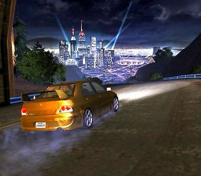 Need for Speed: Underground 2 (2004) - Mitsubishi Lancer Evolution