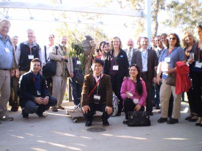 San Diegoで開催されたコアラレトロウイルスワークショップにて