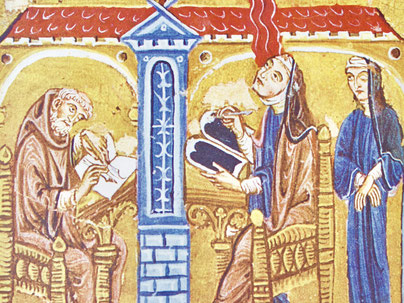 Codex Lucca, Tafel 1 Autorenbild