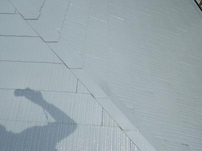 熊本市Y様家屋根塗装完成。高耐久塗料使用。