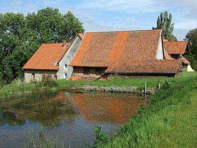 Pulvermühle oberhalb von Schmarrie