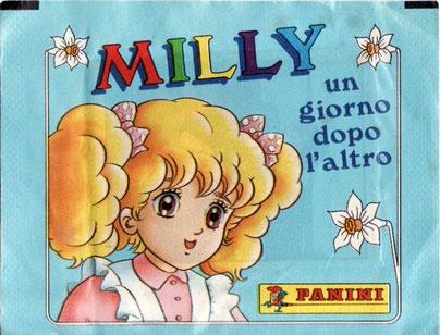 Milly, un giorno dopo l'altro bustina figurine Panini
