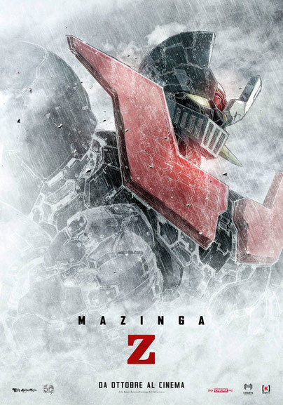 Mazinga Ifinity il film in uscita al cinema 31 ottobre 2017 Distribuito da Lucky Red Maestro Go Nagai Toei Animation