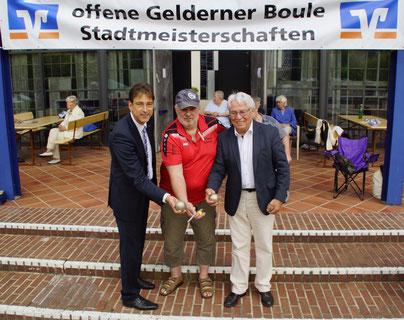 Pont boulefreunde Geldern Pont kleve Boule Stadtmeisterschaft