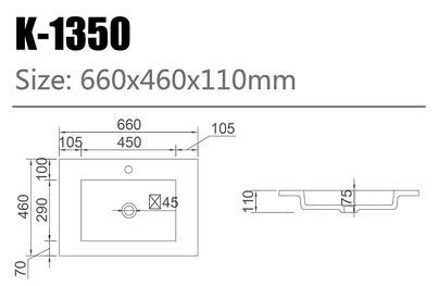Waschtisch K-1350