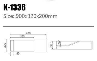 Waschtisch K-1336