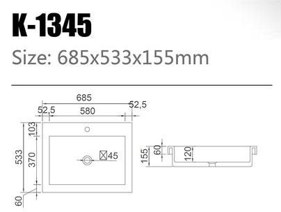 Waschtisch K-1345