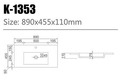 Waschtisch K-1353