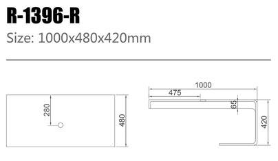 Unterbauplatte R-1396-R
