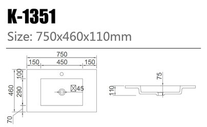 Waschtisch K-1351