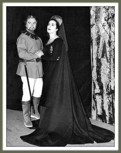I vespri siciliani - Arrigo - di G. Verdi - con Leyla Gencer (Roma 1964)
