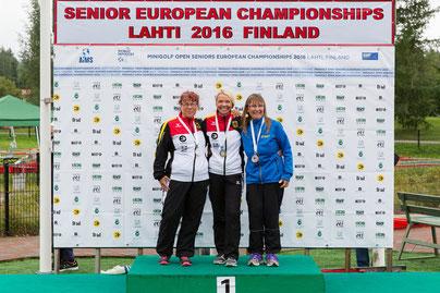 """Herzlichen Glückwunsch an Europameisterin Alice Kobisch und an """"unsere"""" Vize-Europameisterin Andrea Reinicke"""