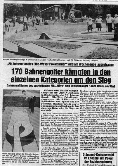Artikel aus den Cuxhavener Nachrichten vom 29.06.1990