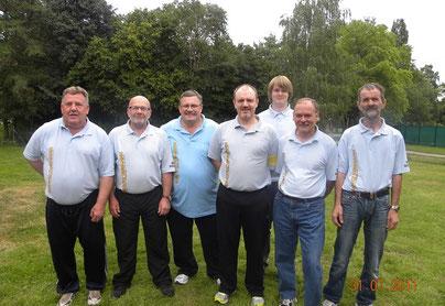 Strahlende Gesichter beim BGC Goslar