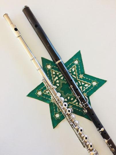 sakuko、池田さく子、Flute、5key-flute、silver flute