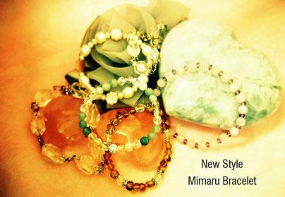 ブレスレット,Mimaru、新商品、パワーストーン、水晶