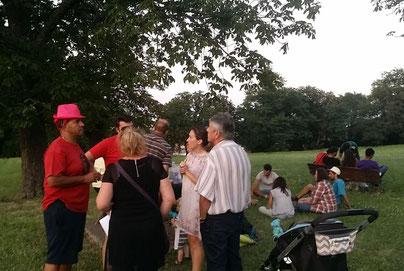 picnic au parc du pigeonnier