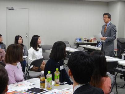 成田国際空港の濱田上席執行役員からの挨拶