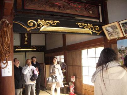 波の伊八(覚翁寺)