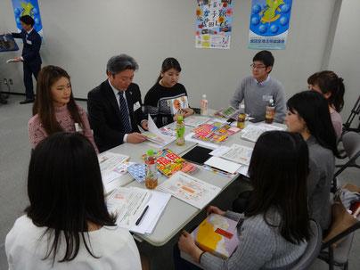 千葉県観光誘致促進課の方からモニターツアーで行けなかったお勧めスポットについてお話しいただきました。