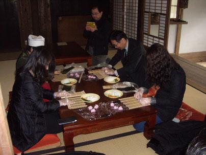 太巻き祭り寿司づくり体験