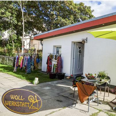 Wollfratz Wollwerkstatt Außenansicht