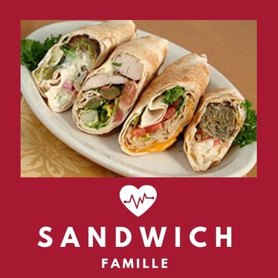 S-596 SANDWICH FAMILLE