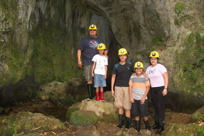 Tour to the Venado Caves Costa Rica