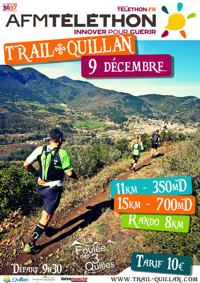 Téléthon Trail Quillan 2018