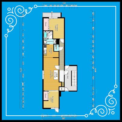 ブランシャール麻生302号室-BlancShaedAZABU-302
