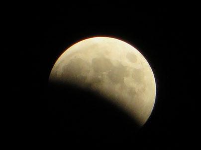 オイルライフ、皆既月食