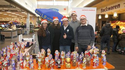 Leo Club SchwaBaHe sammelt Schoko-Nikoläuse 2018