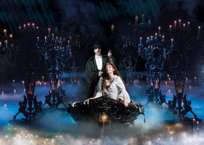 オペラ座の怪人やレ・ミゼラブル等のロンドンミュージカル