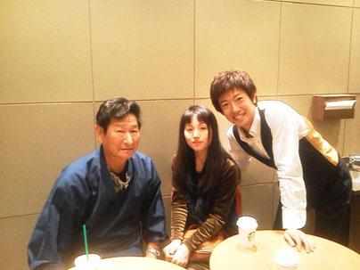 2012年 長崎で市原隆靖さんと