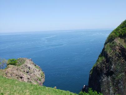 静かなオホーツク海