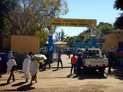 Gondar University  Voyage Séjour Trek Trekking Randonnée Road Trip en Ethiopie Visite de la Région Amhara en Ethiopie.