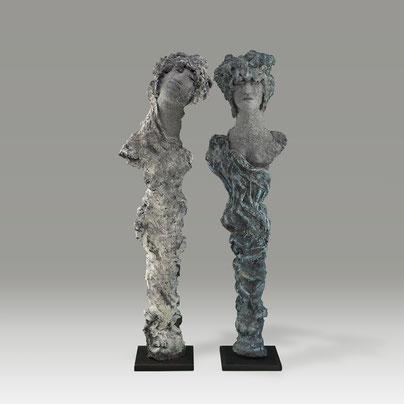 chris jobert artiste sculpteur sculptures honfleur normandie art contemporain