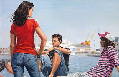 городская живопись михель дель кампо