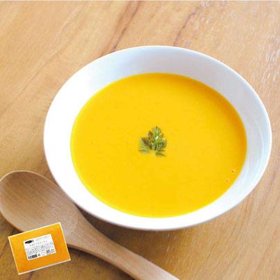 雑誌「BRUTUS」掲載品「葉ごぼうの和風ホワイトスープ」