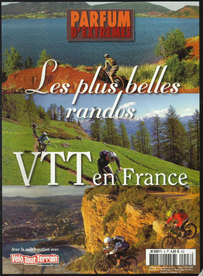VTT Salagou Sylvia Jacquot et Michel Nogué Ozone VTT cycles