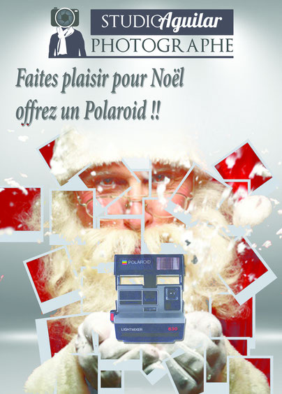 un polaroid pour noel photographe cameraman mariage. Black Bedroom Furniture Sets. Home Design Ideas
