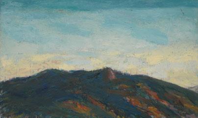 ABENDLICHT BEI F. 2011 Öl auf Leinwand 60 x 100 cm